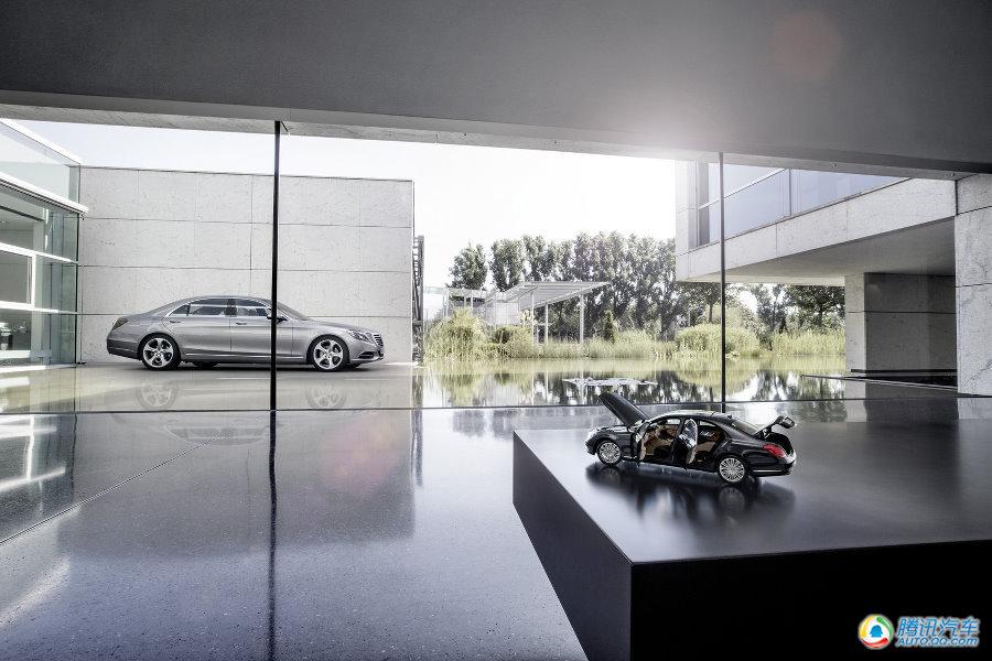 全新一代奔驰s级原厂车模 同样精致高清图片