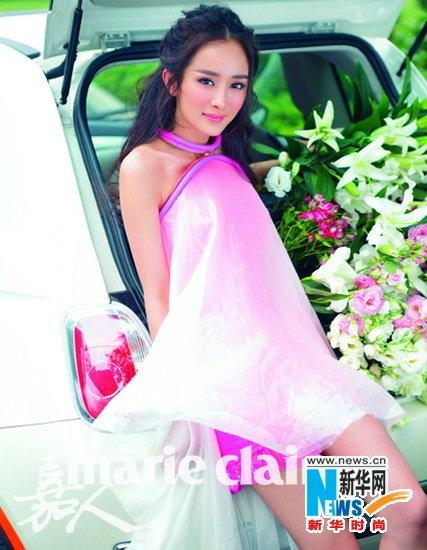 小花旦杨幂的人气再度飙升,频频接下各大时尚杂志的封面拍摄邀请