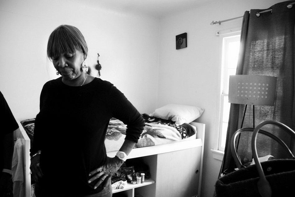 纪实摄影:女囚犯出狱后的生活
