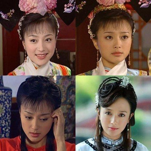 秦岚出演了《又见一帘幽梦》,《还珠格格3》.演知画的时候是她最