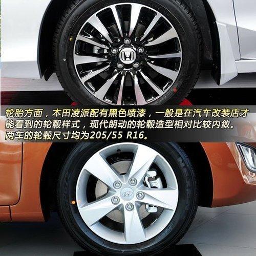 14辐式铝合金轮毂,内表面配有黑色喷漆,一般是在汽车改装店才高清图片