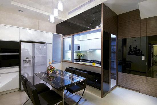 餐厅 冰箱柜 设计图