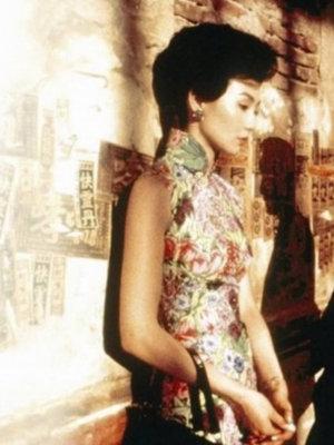 张曼玉--处女座当旗袍遇到张曼玉,六十年代的香港恍惚之间移了魂,