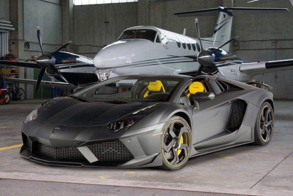 擅长改装豪华车和超级跑车的mansory推出了基于兰博基尼高清图片