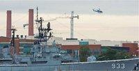 组图:美国华盛顿一海军基地发生枪击案