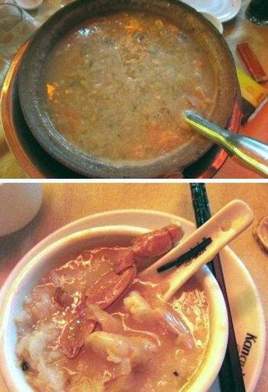 ;海鲜砂锅粥  店名:叹番餐砂锅粥  地址:天河区中山大道