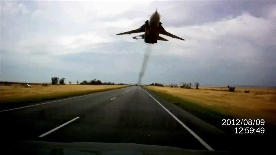 Бомбардировщики СУ-24 больше не будут производить полеты над автотрассами