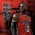 NBA30强卡通海报 詹皇放眼三冠科比已是传奇