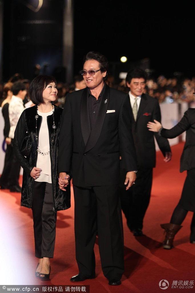 月23日第50届金马奖颁奖典礼在台北国父纪念馆举行.黄子佼杨千霈