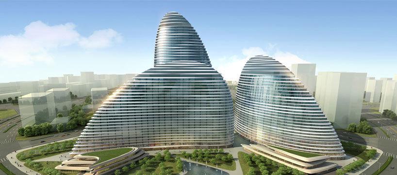 世界建筑 - 兰绿相间  - 兰绿相间