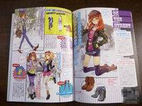 卡通模特!动漫逆袭女性时尚杂志