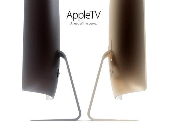 """超薄曲面屏!""""土豪金""""苹果电视设计图曝光"""