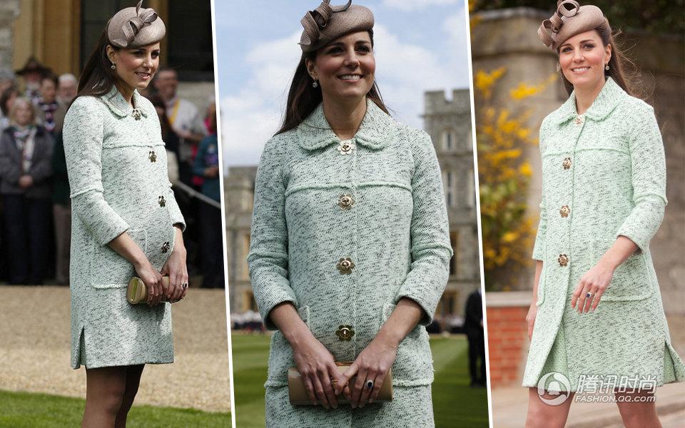 2013年,凯特王妃掀起了一股