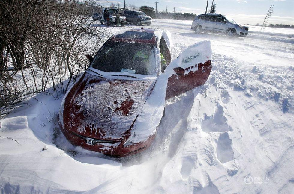美国中东部暴风雪肆虐 - 通天經紀 - tongtianjingji的博客