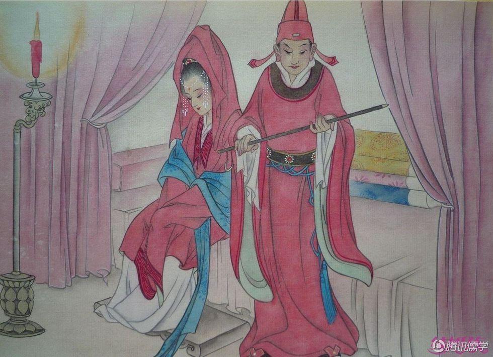 赤绳系足 - 西部落叶 - 《西部落叶》· 余文博客