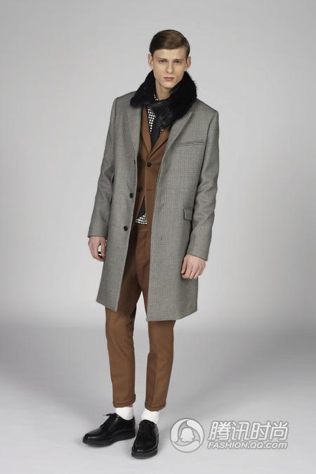 设计师品牌Marni 发布2014秋冬男装系列