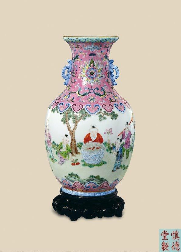 清代粉彩瓶    5 - h_x_y_123456 - 何晓昱的艺术博客