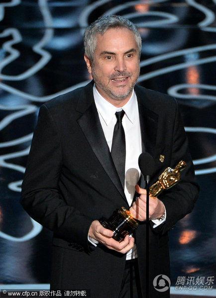 第86届奥斯卡颁奖典礼在好莱坞高地中心杜比剧院举行,《地心引力