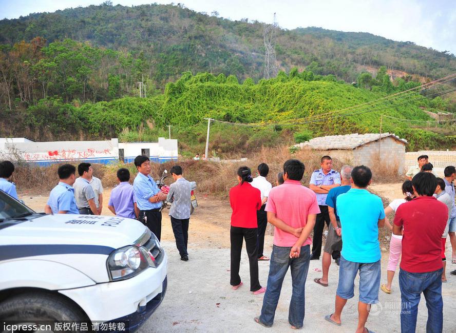 高清图—海南三亚南新农场第一作业区建停尸房 紧挨村庄