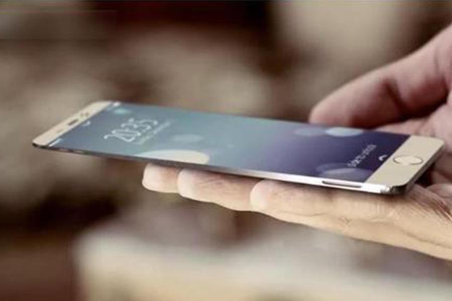 iphone 6最新概念设计:大屏,无边框,弧形