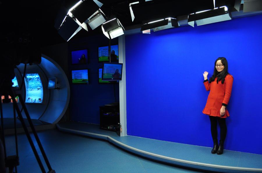网络图标天气预报、短信天气预报等各种天气产品被发布出去.-探访