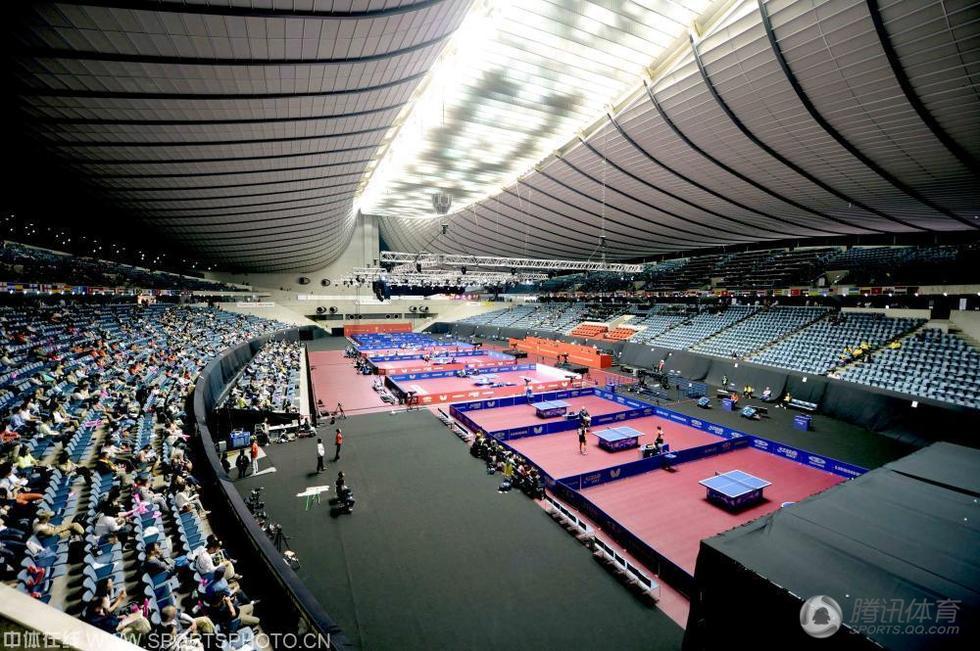 世乒赛 日本东京国立代代木体育馆内景
