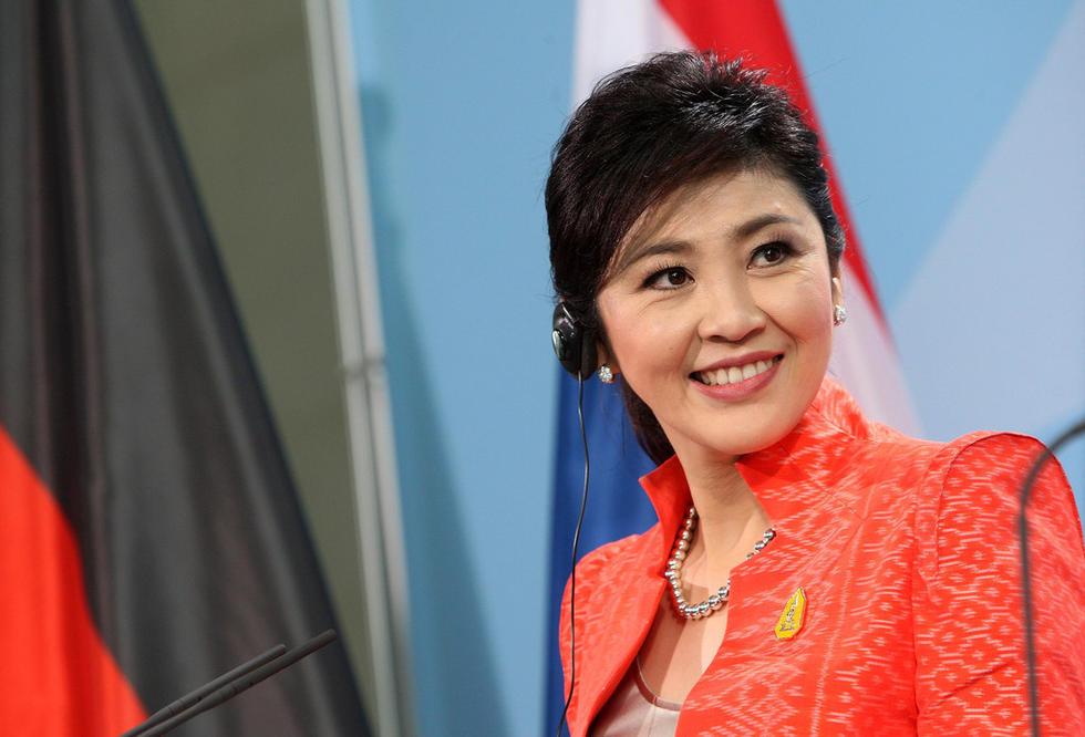 泰国前美女英拉执政的1000天高清组图