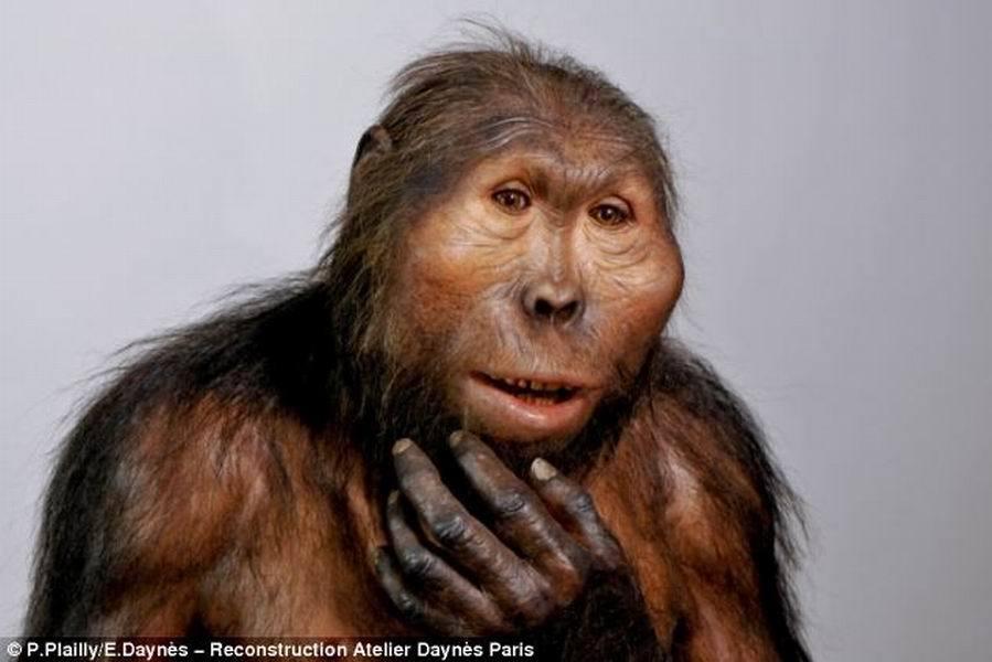 揭秘原始人进化史:艺术家复活