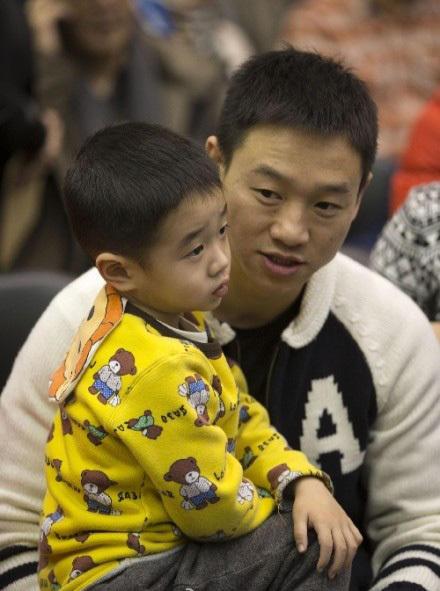 爸爸去哪儿第二季嘉宾 杨威和杨阳洋