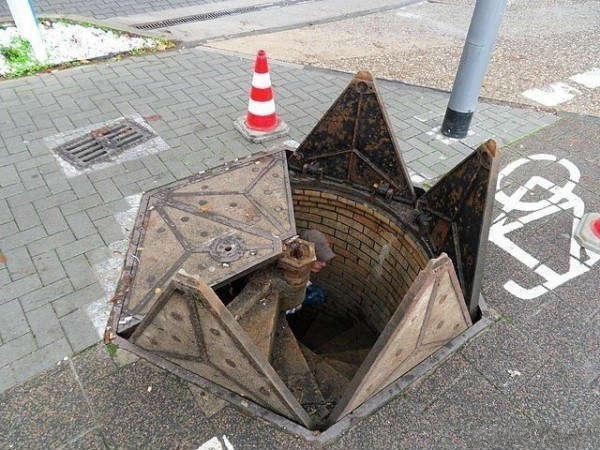 方便的井盖设计图片