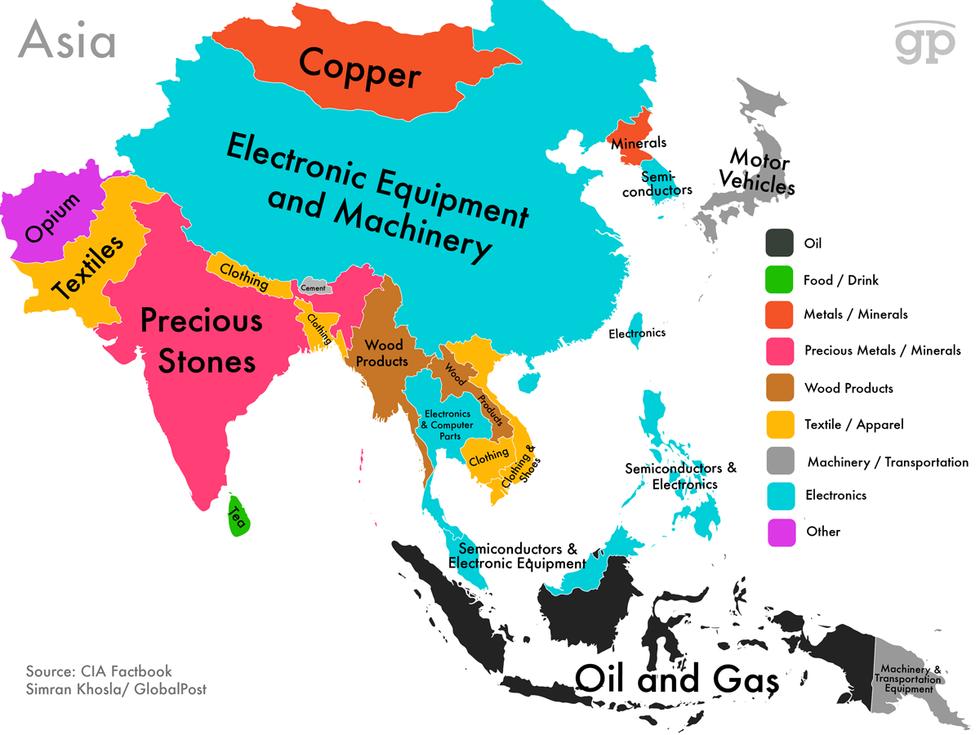 中东和俄罗斯大发石油财