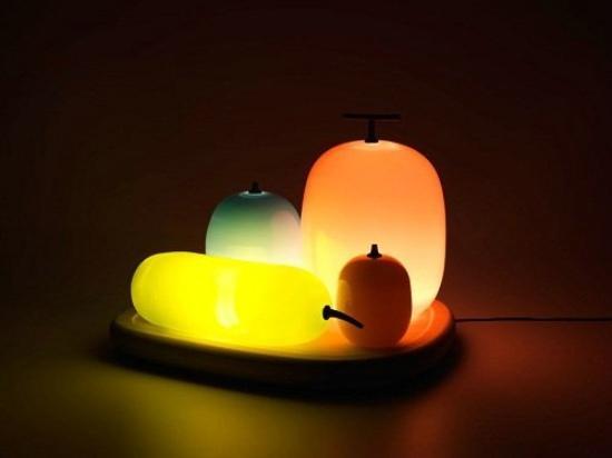 创意灯饰设计:水果灯图片