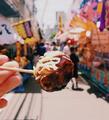 """新加坡女孩的环球街头美食 """"自拍照"""""""