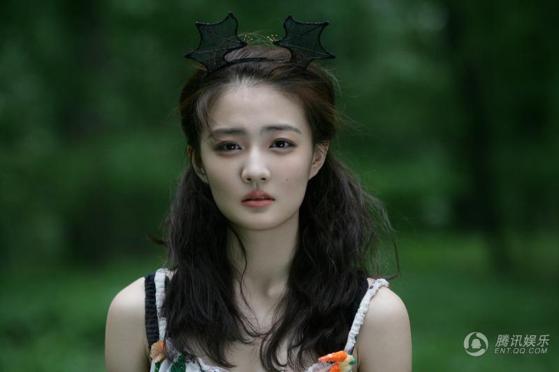 天然美女徐璐森系写真惊艳网友 粉丝齐呼别整容图片