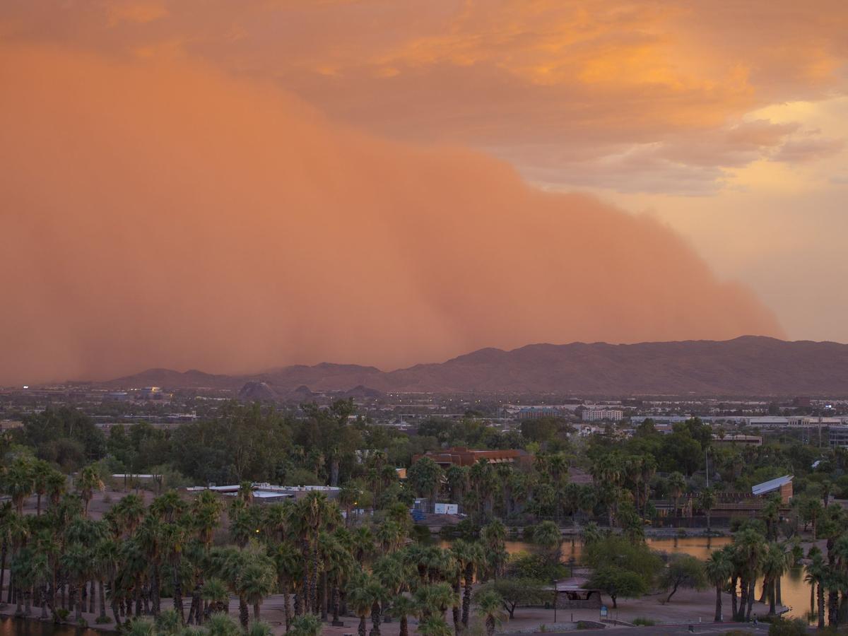 那州中部.国家气象局气象学家杜威-夏洛特告诉亚利桑那共和报称,