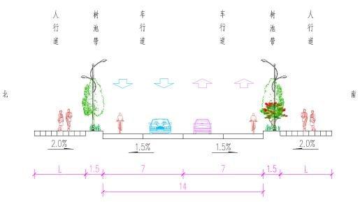 孝肃路黑色化v工程工程方案设计批后公告山东省菏泽市建筑设计院图片