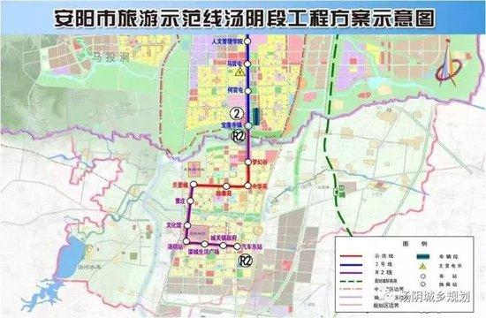 安阳云轨项目计划年底通车!目前站点确定,都分别设置在哪里呢?