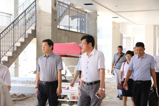 中旅银行领导莅临国旅安阳城参观考察