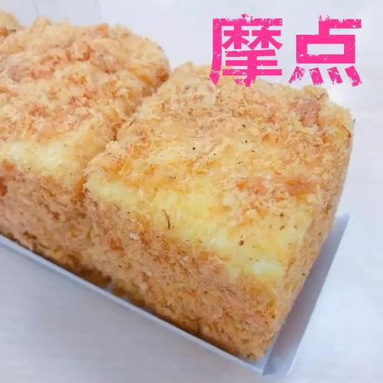本周日桃源蛋糕摩点蟹黄肉松艺境DIYa蛋糕开启包鸭肠的卤鸭爪图片