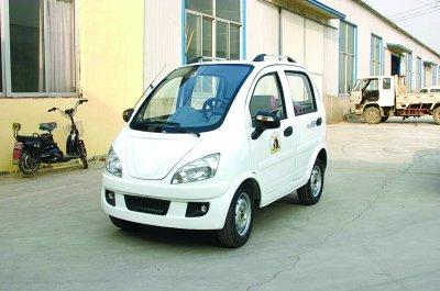 老年代步车算不算新能源汽车?你瞧安阳交警怎么说!