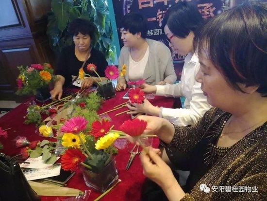 【母亲节】动手学插花,以花献礼母爱