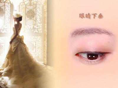 星座女孩的眼睛简笔画