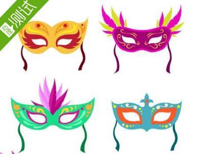 测字看你戴哪种面具