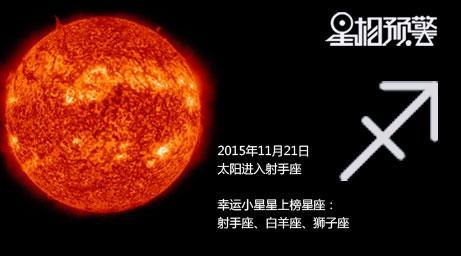 11月22太阳进入射手