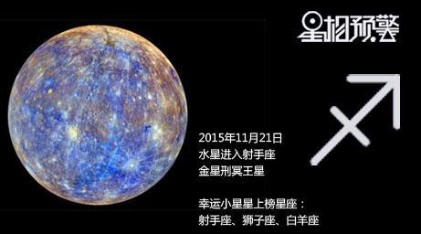 11月21水星进入射手