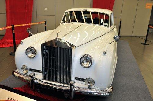 劳斯莱斯古董车专场活动国家体育馆开幕 高清图片