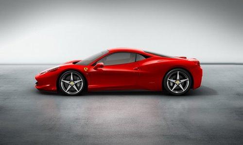 法拉利458 italia 即将亮相法兰克福车展高清图片
