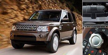 优雅下山 试2010款陆虎Land Rover发现4