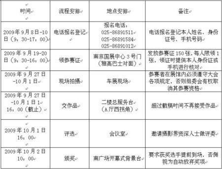 南京国际车展现场摄影大赛征稿启事