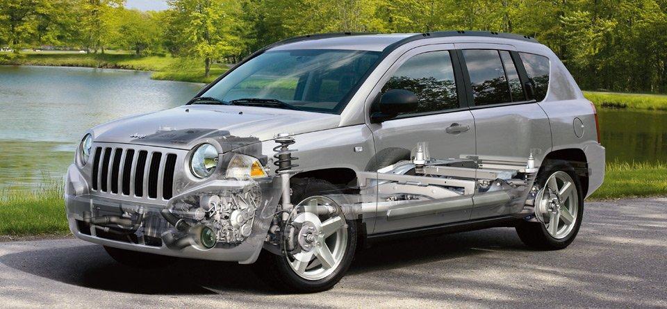 jeep指南者外观改装图